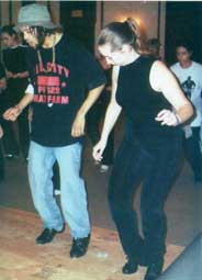 Miss Donna and Savion Glover